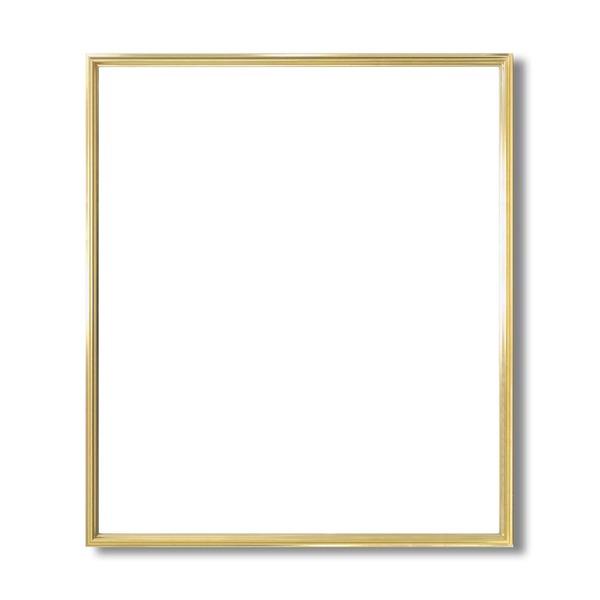 デッサン額縁/フレーム 【大全紙サイズ 727×545mm】 ゴールド 壁掛けひも付き 化粧箱入り 5002