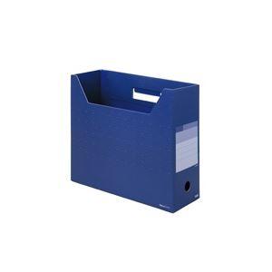 文具・オフィス用品 (業務用100セット) プラス ボックスファイル レギュラー FL-023BF NVB 【×100セット】