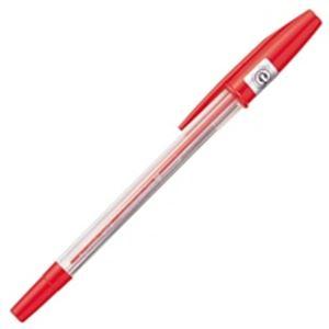 文房具・事務用品 筆記具 関連 (業務用100セット) 三菱鉛筆 ボールペン SA-R10P.15 赤 10本 【×100セット】