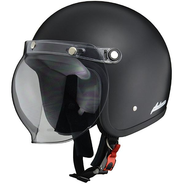 バイク用品 ヘルメット 関連 スモールジェット AB505 マット/BK LL