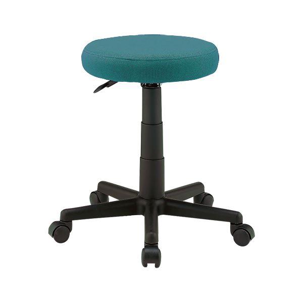 椅子 関連商品 丸イス C901RJ グリーン 布張り