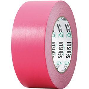 文具・オフィス用品 (まとめ) 積水化学 カラークラフトテープ#500WC 50mm×50m 赤 K50WR13 1巻 【×20セット】