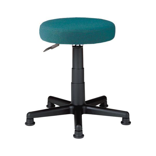 椅子 関連商品 丸イス C911J グリーン 布張り