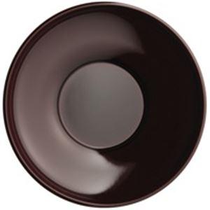 キッチン・食器 (業務用20セット) ピーアンドエス 溜色茶托 40302 5枚組 【×20セット】