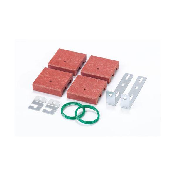 インテリア・家具 (業務用5セット) エムテックス 設置セット MSO-1(ブロック、金具) 【×5セット】