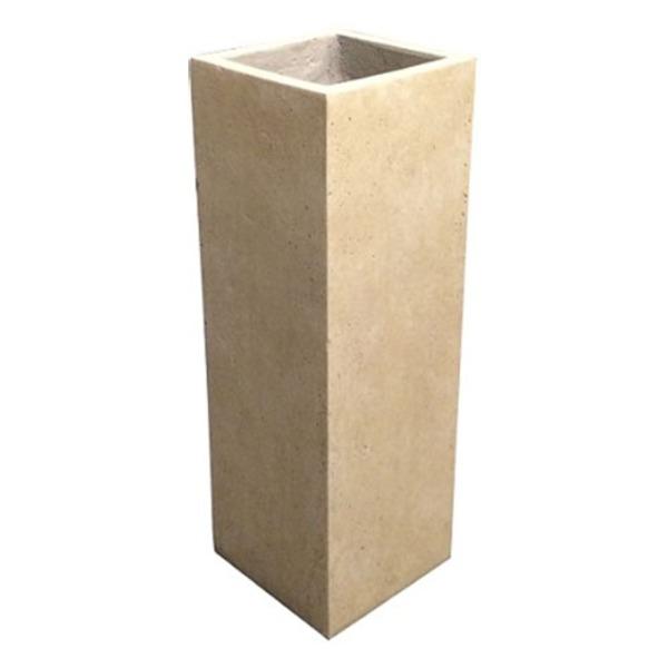 ガーデニング・農業 植木鉢・プランター プランター 関連 軽量コンクリート製植木鉢 フォリオ クアドラ クリーム 22cm
