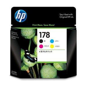 パソコン・周辺機器 PCサプライ・消耗品 インクカートリッジ 関連 ヒューレットパッカー HP インクカートリッジ HP178 4色マルチパック HP-INCR281AA