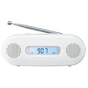 家電 関連 FM-AM 2バンドレシーバー (ホワイト)