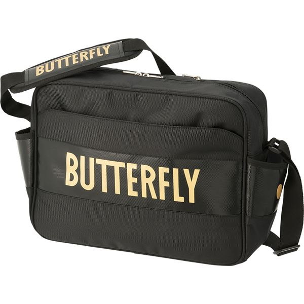スポーツ用品・スポーツウェア バタフライ(Butterfly) 卓球バッグ スタンフリー・ショルダー 62870 ゴールド