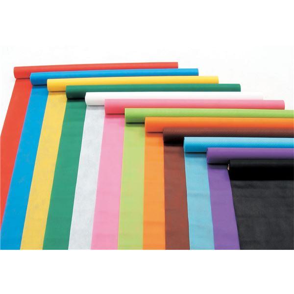 ホビー 関連 便利 日用雑貨 (まとめ買い)カラー不織布ロール 黒 10m巻 【×5セット】