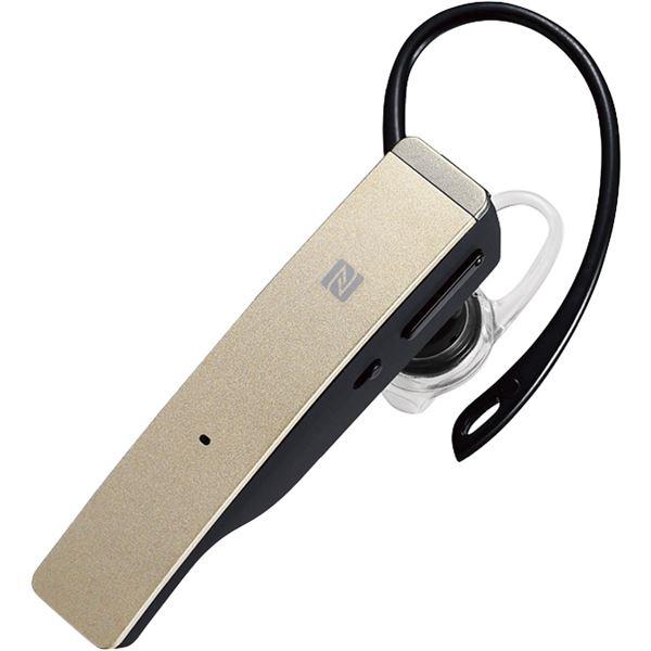 パソコン・周辺機器 関連 家電関連商品 バッファロー(サプライ) Bluetooth4.1対応 2マイクヘッドセット メタルアンテナ搭載&NFC対応モデルゴールド