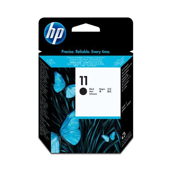 パソコン・周辺機器 PCサプライ・消耗品 インクカートリッジ 関連 (まとめ) HP11 プリントヘッド ブラック C4810A 1個 【×3セット】