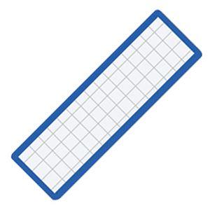 (まとめ) コクヨ マグネット見出し 19×75×1.2mm 青 マク-402B 1個 【×40セット】