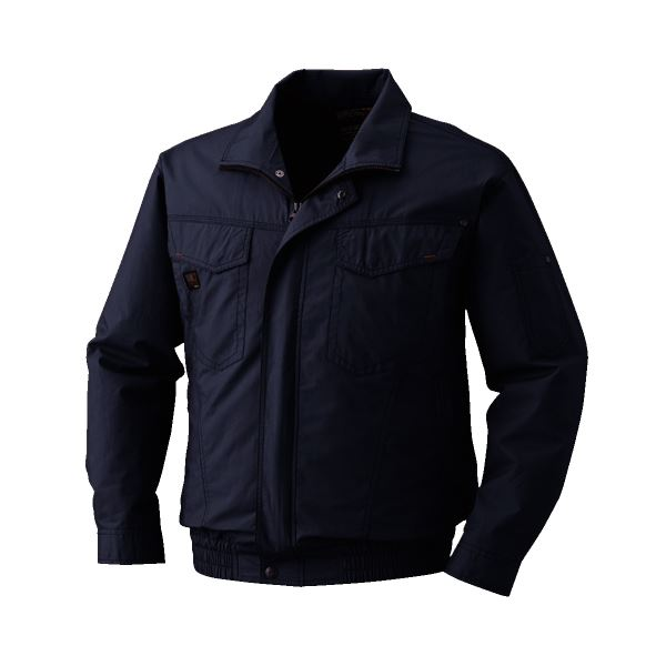 DIY・工具 空調服 綿薄手長袖タチエリブルゾン リチウムバッテリーセット BM-500TBC69S4 チャコール 2L