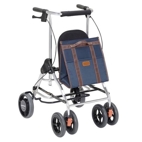 健康器具 幸和製作所 歩行車 テイコブリトルR ネイビー HS05R