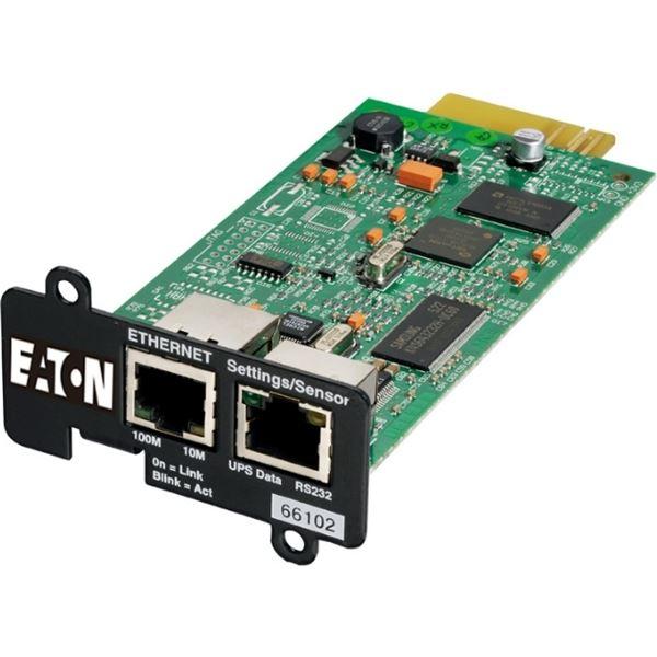 パソコン・周辺機器 Eaton イートン無停電電源装置(UPS)ネットワークカード NETWORK-MS NETWORK-MS