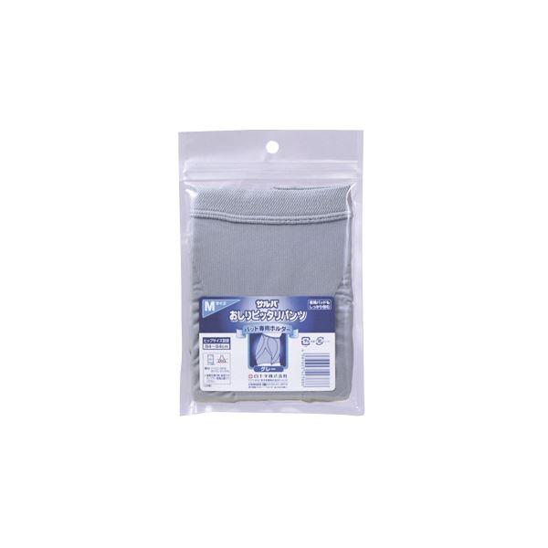 衛生用品 (まとめ)白十字 失禁パンツ おしりぴったりパンツ M グレー 42388【×2セット】