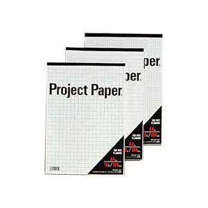 文房具・事務用品 関連 (まとめ) オキナ プロジェクトペーパー A4 5mm方眼 100枚 PPA45S 1冊 【×15セット】