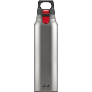 生活日用品 SIGG(シグ) 保温・保冷ボトル ホット&コールドワン プラッシュド 0.5L