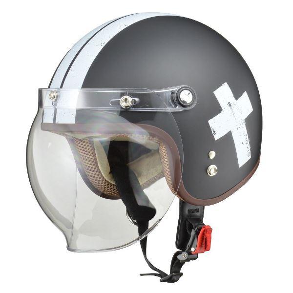 ヘルメット 関連商品 スモールロージェット NOVIA CROS.BK フリー