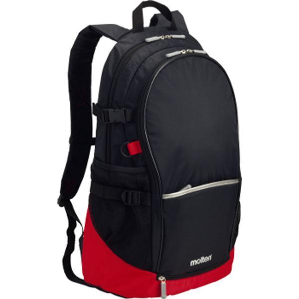 スポーツ用品・スポーツウェア関連商品 モルテン(Molten) バックパック(黒×赤) LA0013KR
