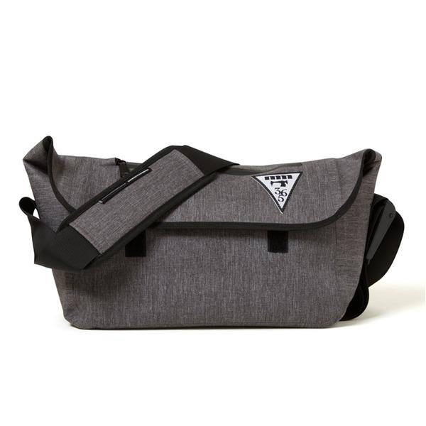 ショルダーバッグ 関連商品 熱着加工 防水メッセンジャーバッグ ミックスグレー