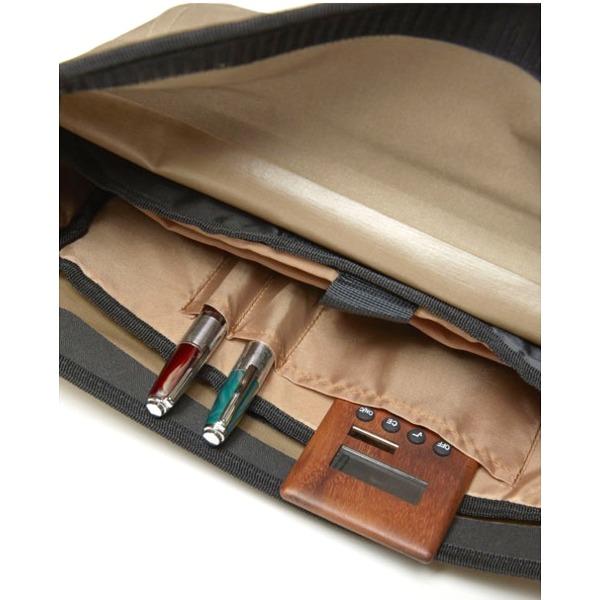 バッグ 関連商品 熱着加工 防水メッセンジャーバッグ ミックスグレー