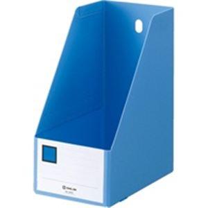 文具・オフィス用品 (業務用100セット) キングジム GボックスPP 4655 A4S 青 【×100セット】