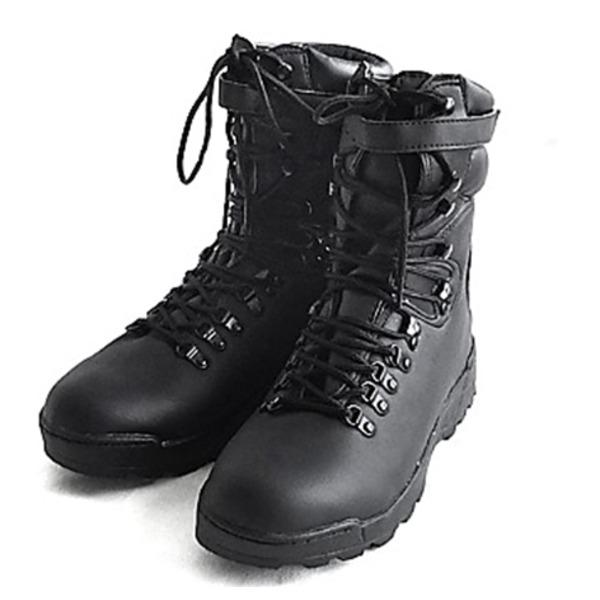 スポーツ・アウトドア 登山・トレッキング 靴・ブーツ 関連 ホビー関連商品 アメリカ軍PUコンバットブーツ ブラック レプリカ 10W(28cm)