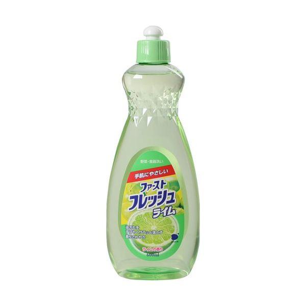 キッチン用洗剤 関連 ファーストフレッシュライム600ml 【(20本×10ケース)合計200本セット】 30-351