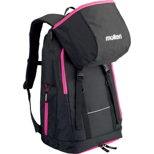 バスケット用品 関連商品 バックパック ミニバスケットボール用(黒×ピンク) LB0032KP