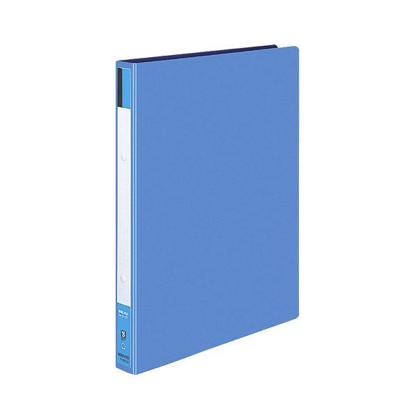 生活用品・インテリア・雑貨 (まとめ) コクヨ リングファイル 色厚板紙表紙 A4タテ 2穴 170枚収容 背幅30mm 青 フ-420NB 1冊 【×10セット】