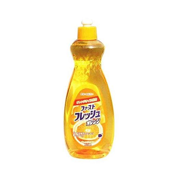 キッチン用洗剤 関連 ファーストフレッシュオレンジ600ml 【(20本×10ケース)合計200本セット】 30-589