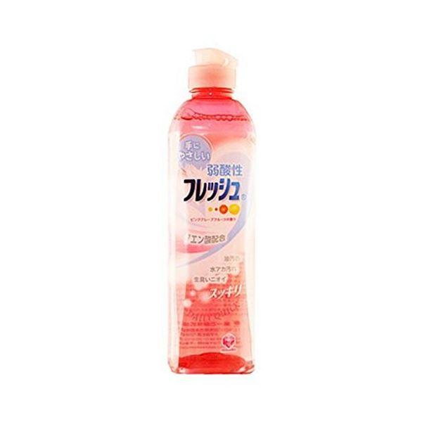 キッチン用洗剤 関連 キッチンクラブ・弱酸性フレッシュピンクグレープフルーツ250ml (30本×10)300本セット 30-876