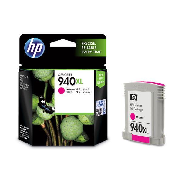 パソコン・周辺機器 PCサプライ・消耗品 インクカートリッジ 関連 (まとめ) HP940XL インクカートリッジ マゼンタ C4908AA 1個 【×3セット】
