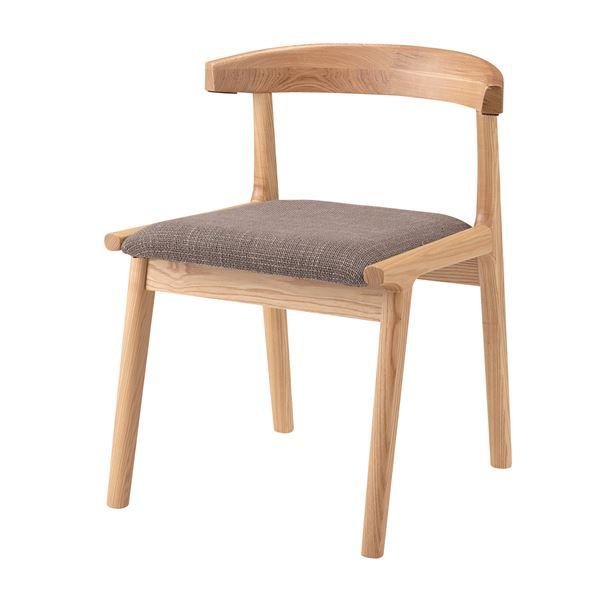 インテリア・家具 (2脚セット)東谷 ヘンリー ダイニングチェア 木製(天然木) ブラウン HOC-541BR