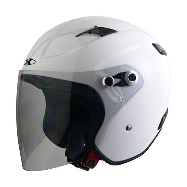 バイク用品 ヘルメット 関連 ジェット RAZZOIII ホワイト S