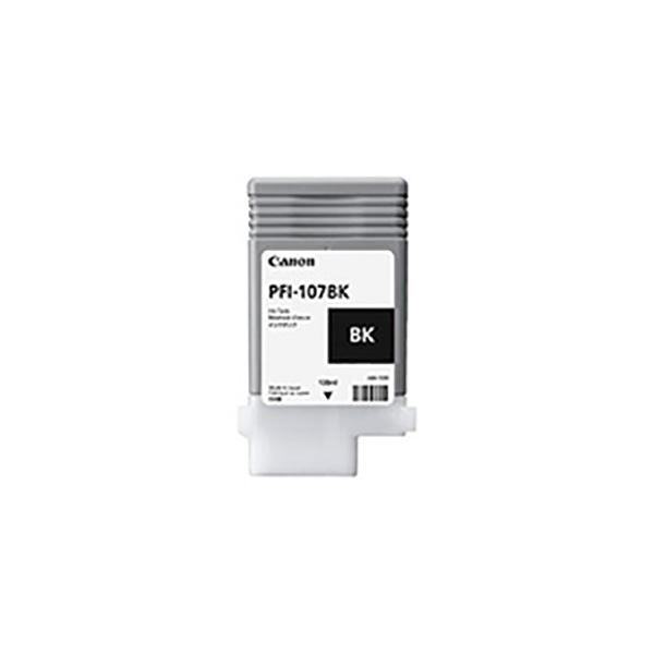 パソコン・周辺機器 PCサプライ・消耗品 インクリボン 関連 【純正品】 Canon(キャノン) 6705B001 PFI-107BK ブラック