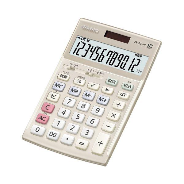 電卓 電卓本体 関連 本格実務電卓 JS-20WK-GD