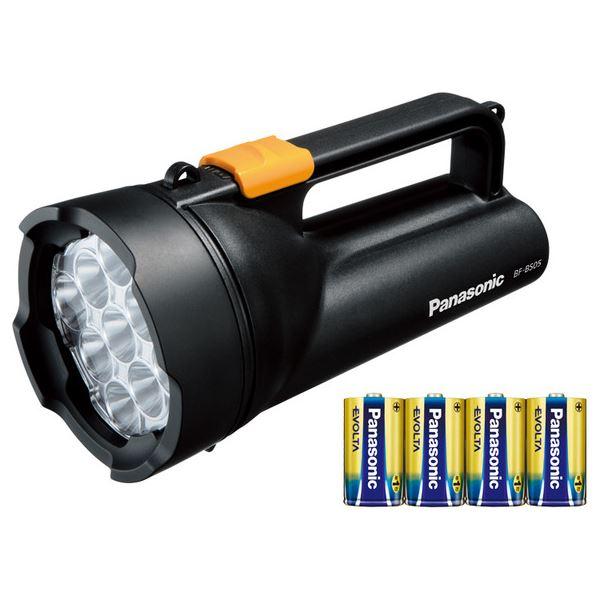 最新デザインの 乾電池エボルタ付き ワイドパワーLED強力ライト (黒) BF-BS05K-K, giraffe:6af8e34e --- hortafacil.dominiotemporario.com