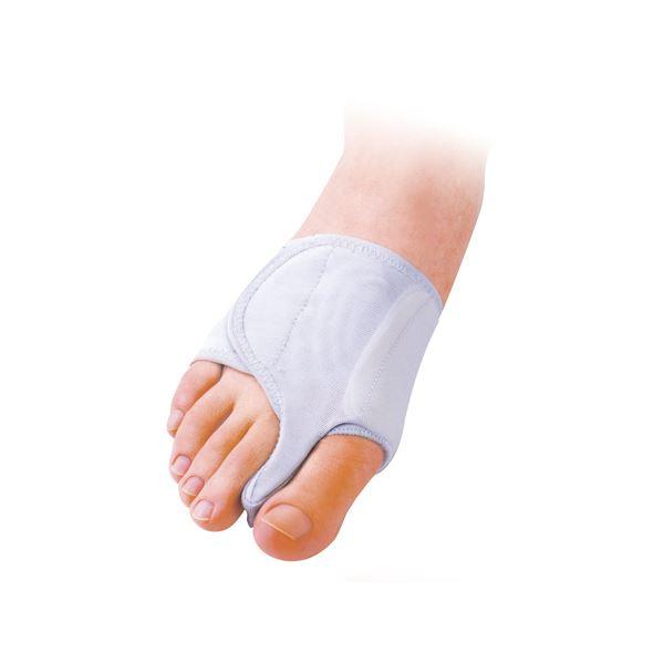 健康アクセサリー (まとめ)三進興産 サポーター 外反母趾サポーター固定薄型 右足 S 63218【×3セット】