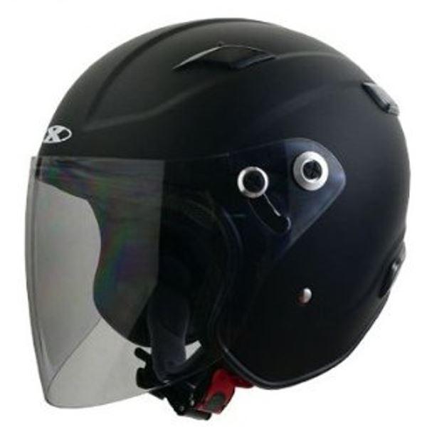 バイク用品 ヘルメット 関連 ジェット RAZZOIII マットブラック L