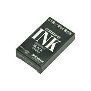 (業務用100セット) プラチナ万年筆 スペアインク SPSQ-400 黒 10本入 【×100セット】