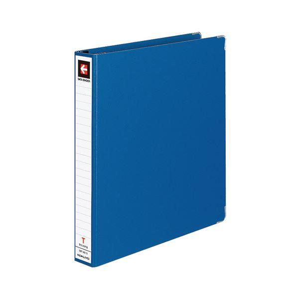 (まとめ) コクヨ データバインダーT(バースト用・レギュラータイプ) T11×Y10 22穴 280枚収容 青 EBT-2210B 1冊 【×10セット】
