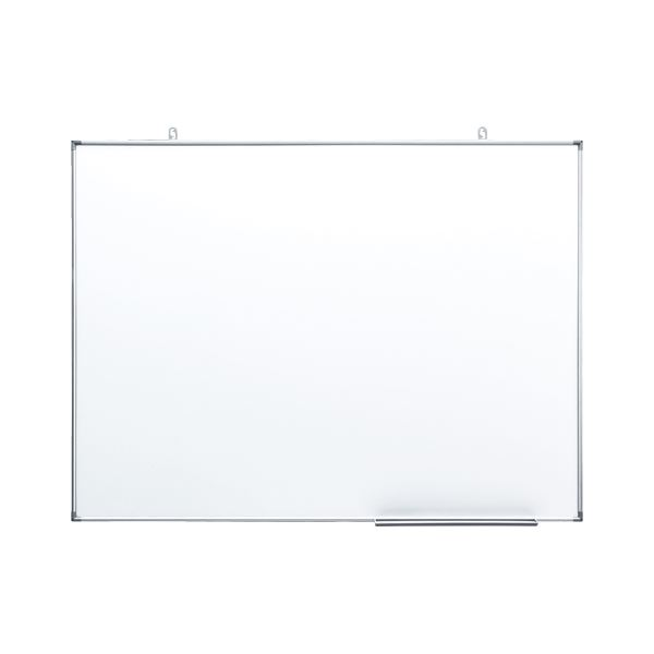 プレゼンテーション用品 掲示板・コルクボード 関連 日学 アルミ枠ホワイトボード ホワイト AT-12