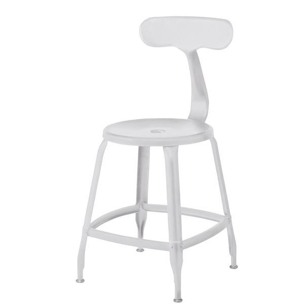 インテリア・家具 (2脚セット)東谷 フライ チェア スチール ホワイト HC-559WH