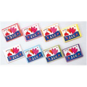 生活用品・インテリア・雑貨 (業務用100セット) 合鹿製紙 おはながみ 五色鶴 500枚 紫 【×100セット】