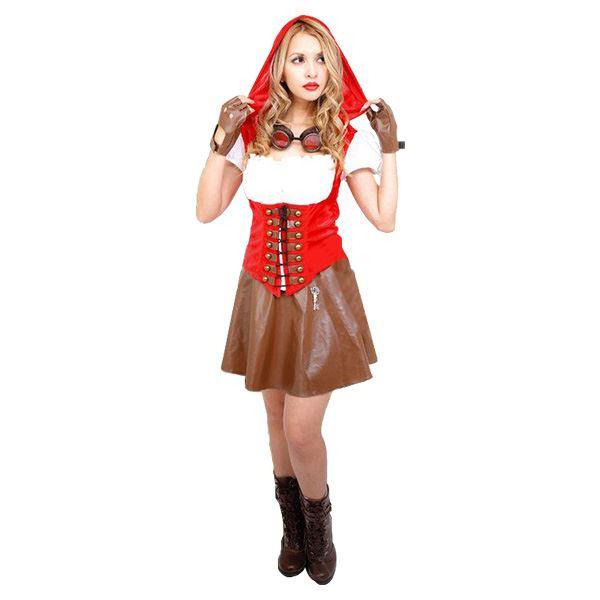 【コスプレ】Red Riding Hood Girl(レッドライディングフードガール)