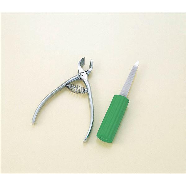衛生用品 (まとめ)フセ企画 爪切り フルサワの爪切り【×3セット】