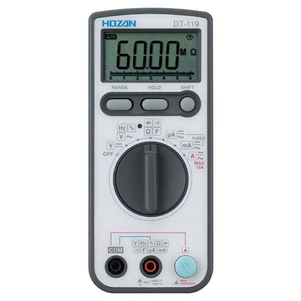 DIY・工具 手動工具 関連 HOZAN DT-119 デジタルマルチメータ